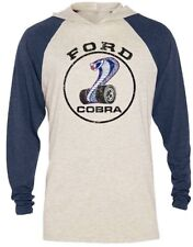 NEW OFFICIALLY LICENSED FORD MUSTANG COBRA SIZE 2XL OR 3XL LIGHTWEIGHT HOODIE!