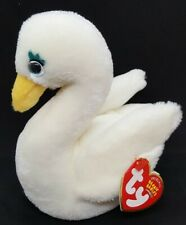TY 2003 GODDESS the SWAN BEANIE BABY - MINT with MINT TAGS