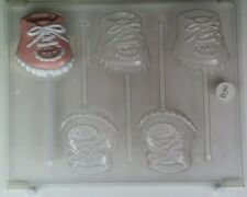 BABY SHOE CHOCOLATE LOLLIPOP CANDY MOLD MOLDS SHOWER PARTY FAVORS LOP
