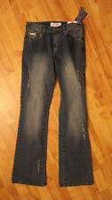 """Baby Phat Womens Jeans Size 5 Pants Distressed Embellished Pants NWT 33 1/2"""""""