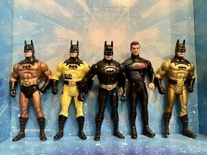 Vintage Kenner Batman Movies 1989 1990s Action Figure Lot of 5 Used (Lot #5)