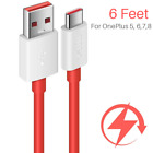 6Ft Dash Charge Cable for OnePlus 3, 6, 7, 7Pro 8 7T 5V 4A Warp USB Type C Cable
