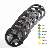 DC12V 5M 3528/RGB waterproof SMD 300/LED Light Strip Flexible Ribbon Tape lamp
