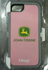 John Deere Otterbox Defender Phone Case iPhone 5 Pink w/ JD Logo LP51543 *used*
