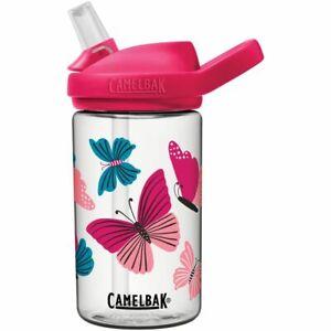 Camelbak Eddy+ Kids Butterflies Water Bottle 14oz BPA Free Pink//Blue