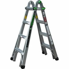 Ascent Mighty Multi 17ft Aluminum Multi-Position Ladder- 300-Lb Cap AHL-17
