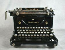 Antike Mercedes Schreibmaschine aus Zella-Mehlis, sehr gut erhalten, sehr selten