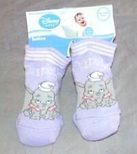 1 paires de Chaussettes Mauve Disney Dumbo Taille 0-6 mois neuves