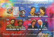VOSTOK 5&6 space V Bykovski V Tereshkova N Khrushchev Tchad 2013  #tchad2013-48