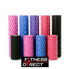 Foam Roller Exercise Trigger Point Textured Massage Yoga Gym Eva Grid Physio 2SL