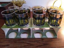 2  SETS NEW IN ORIGINAL BOX ~ Vintage 6 oz. Juice Glasses by Libbey  1970's