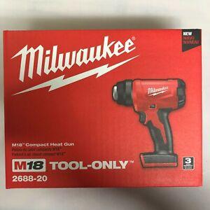 Milwaukee 2688-20 M18 Cordless Heat gun NEW in Box 2 DAY SHIPPING