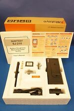 Mitutoyo Surftest SJ-210 Surface Finish/Roughness/Profilometer New with Warranty
