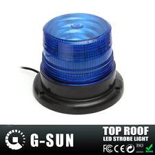Car Truck LED Emergency Strobe Light Magnetic Warning Beacon Lights 15W Blue