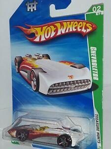 Hot Wheels  2010 ,TH ( Chevroletor) # 2 of 12 , FTE Wheels , White