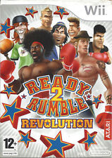 READY 2 RUMBLE REVOLUTION for Nintendo Wii - with box & manual - PAL