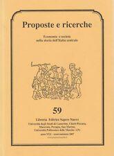 Storia Locale economia e società nella storia dell'Italia centrale n. 59