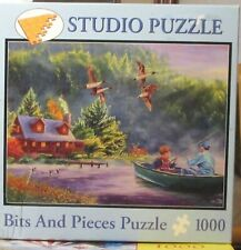 GONE FISHING BY CORY CARLSON - Complete - BITS & PIECES PUZZLE