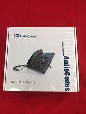 AudioCodes 420HD IP Phone - NEW