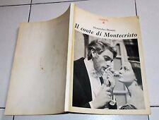 IL CONTE DI MONTECRISTO Quaderni de La nostra Rai 4 - 1966 Romanzi in Tv Fiction