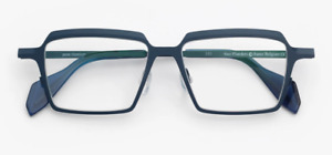 NUOVO OCCHIALE DA VISTA THEO  MOD: FLANDERS COL: BLU NEW AND AUTHENTIC