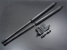 Fit Toyota Supra MK4 JZA80 2JZ Bonnet Hood Black Carbon Gas Strut Shock Damper