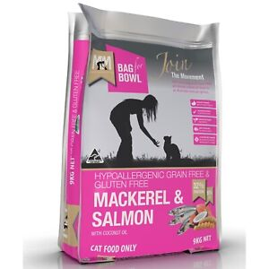 Meals for Meows Grain Free Mackeral & Salmon - Cat Food 9kg
