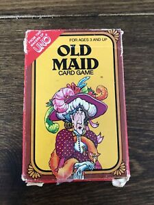 Vintage Old Maid Card Game 1980s International Games Inc Maker of Uno Complete