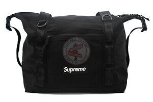 Supreme Zip Tote Black (FW20)