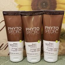 LOT OF 3  Phyto PhytoSpecific Rich Hydration Mask, 6.8 oz NEW UNBOXED