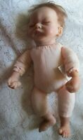 "10"" Ashton Drake Tiny Miracle Emmy Real soft vinyl Touch Baby Doll - used"