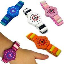 German Trendseller® - 6 x Armbanduhr Holz | Kinder | Mitgebsel | Geburtstag