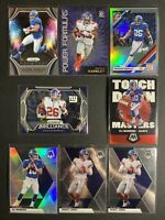 2019 New York Giants Prizm & 2020 Mosaic: Saquan Barkley, Daniel Jones, Eli LOT