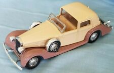 Vintage 1939 Delage D8_120 Coupe by Solido 1/43 Scale Excellent Condition