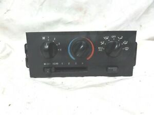 99-02 Mercury Villager Temperature Climate Control AC A/C Heat Temp Heater Dash