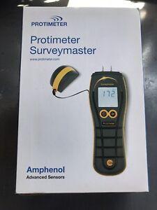 Protimeter Surveymaster Dual Function Damp Moisture Meter Excellent Condition