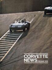 Corvette News Magazine 1974 Volume 17 Number 3 Feb/Mar