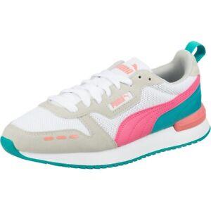Puma R78 Damen Sneaker Low Top Turnschuhe 373117 White Glowing pink