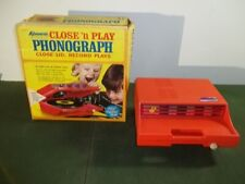 KENNER Close 'n Play Phonograph 867 1970 Tested Working w Box