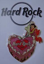 Hard Rock Cafe Pin Fukuoka Valentine's Day Heart Shaped 2002 Le