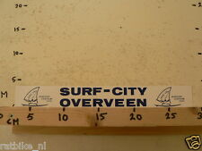 STICKER,DECAL SURF-CITY OVERVEEN WINDSURF CENTRUM LARGE