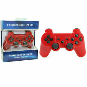 Wireless DualShock 3 Game Controller Gamepad for Sony PS3 PlayStation 3 Deep Red