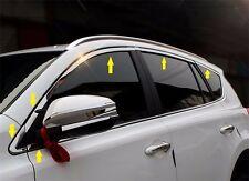 Toyota RAV4 2013-2017 S.steel Window Frame Chrome Molding Trim sill 12pcs