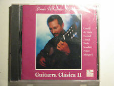 Guitarra Clasica II by Louis Valentine Johnson 2001 CD New