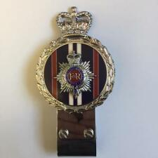 Gaunt style Chromed Brass Car Badge - ROYAL CORPS OF TRANSPORT REGIMENT - B4.004