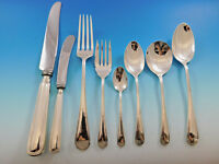 Saxon by Birks Canada Sterling Silver Flatware Set 8 Service 66 pcs Dinner