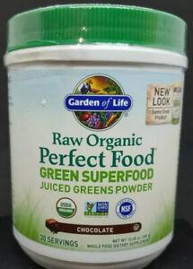Garden of Life Perfect Food Organic Green Super Food Chocolate 10.05 oz #5957