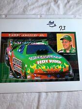Tommy Johnson Racing Interstate Batteries Firebird Signed NHRA Photo 6 X 9 N 73