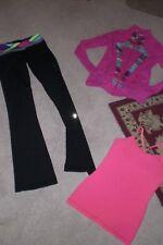 Lot of Girls Ivivva by Lululemon Luon Pants, Luon Jacket and Tank sz 10