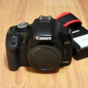 Canon EOS 500D DSLR Camera Body - Nice - BARGAIN - Free Shipping